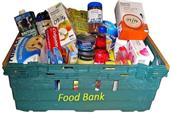 Urgent request for foodbank donations.