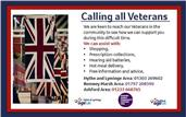 CALLING ALL VETERANS