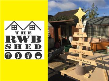 Christmas trees available - RWB Shed projects in progress