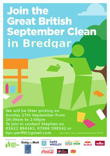 Bredgar September Clean - Bredgar September Clean - Litter Pick