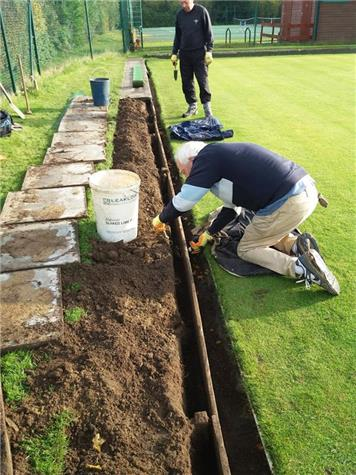 Re-aligning Ditch Walls - Repairs to Ditch Walls