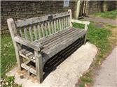 Station Road bench renovation