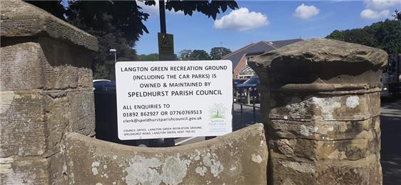 - Langton Green Recreation Ground & Carpark Ownership & Maintenance