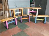 Benches for Jubilee Lake Tea Rooms