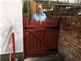 New gate for the United Reformed Church