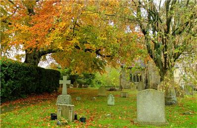 Churchyard in Autumn - Claire Whatley - Autumn Photographic Competition