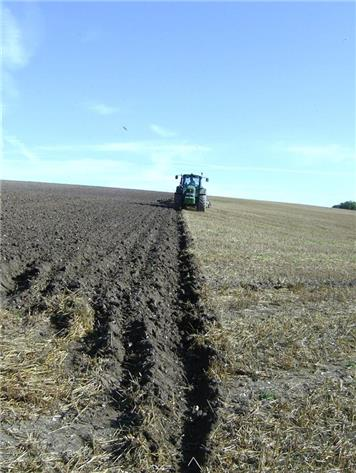 Ploughing in Bucknell's field - Nicky Street - Autumn Photographic Competition