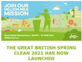 Great British Spring Clean 28th May - 13th June 2021