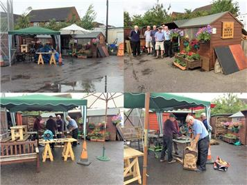 Busy, busy - South West in Bloom at the RWB Shed