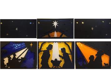 The six frames restored - Restored Advent Windows for RWB United Reformed Church