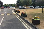 The RWB Shed builds and donates planters to St Bartholomew's Primary Academy