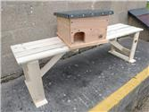 Bench and hog house for Noremarsh Junior School