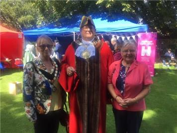 - Mayor attends......Thetford Heritage Open Day