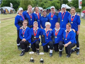 - Ladies Tug of War Gold Medals