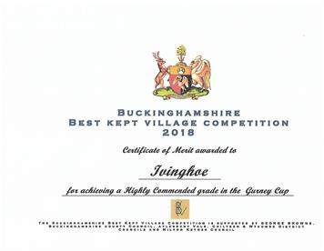 - Bucks Best Kept Village Results