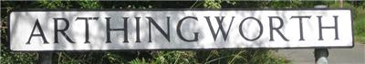 Arthingworth Parish Council Logo