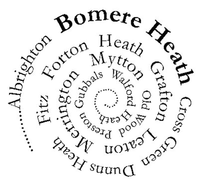 Bomere Heath & District Parish Council Logo