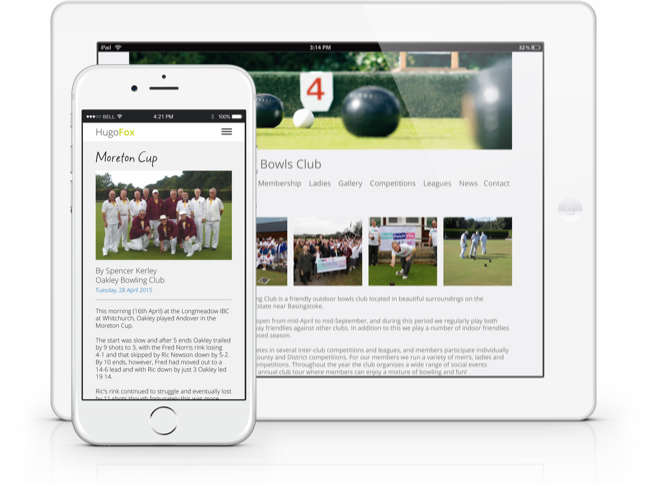 Promote your club with HugoFox