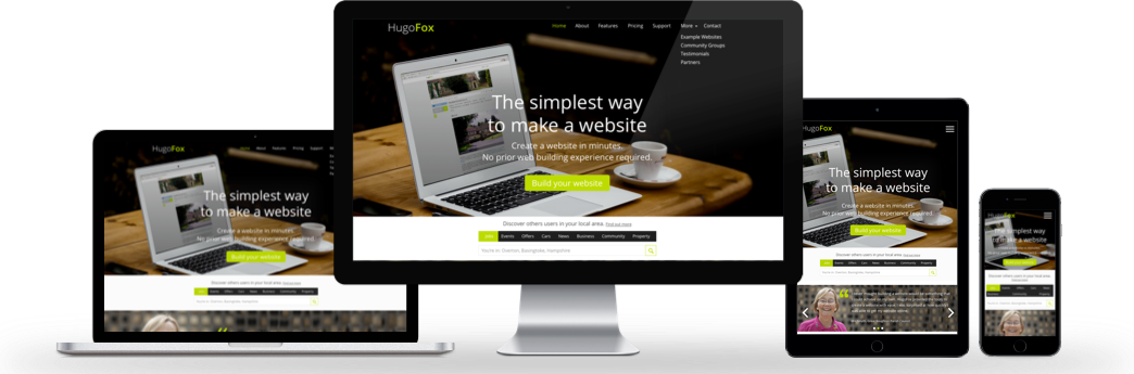 HugoFox - Learn to create a responsive website